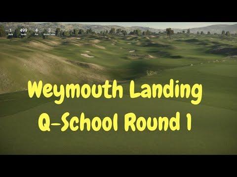 The Golf Club 2 PC Gameplay - Weymouth Landing - Q-School/TGCTours R1
