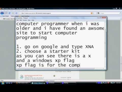 First Steps Into Computer Programming