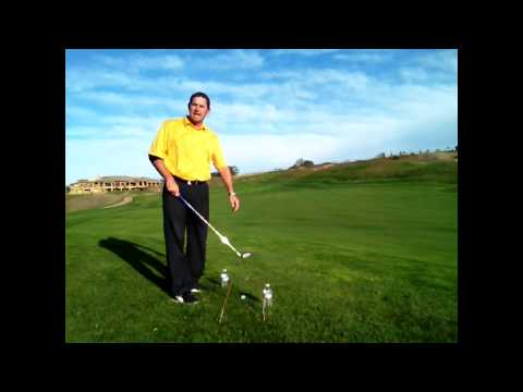 Use Water Bottles to Improve Your Golf Swing!