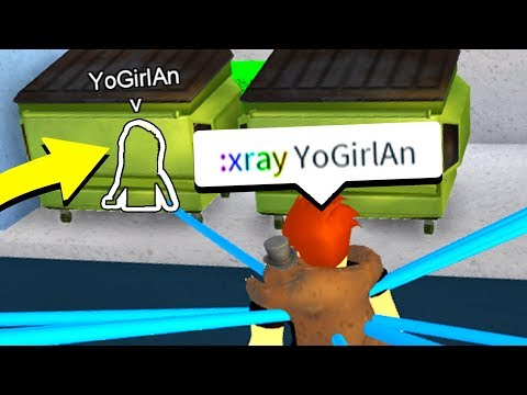 XRAYING WITH ADMIN COMMANDS! (Roblox)