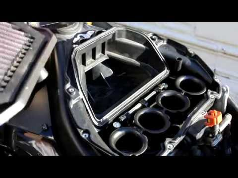 D.I.Y. Air filter, Ignition coils, spark plugs on a 08 Yamaha R6