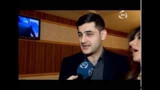 Revan Qarayev heyat yoldasi ile qizinin ad gununde ilk defe ATV 10LAR