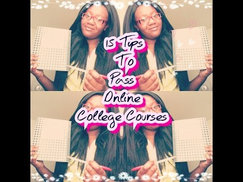 15 Tips Taking Online College Courses & My Experience Pt.1