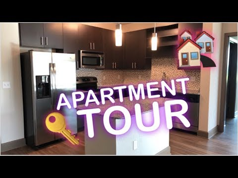 WE MOVED !!!! MY NEW EMPTY APARTMENT TOUR IN ORLANDO   2018