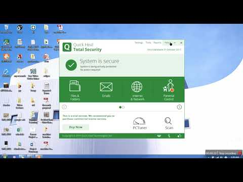 How to activate quick heal trial version with registered key