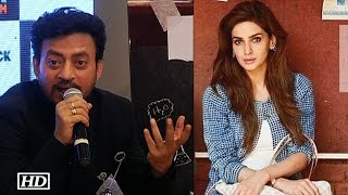 "Irrfan REACTS | Pak actress Saba Miss ""Hindi Medium"" Trailer launch"