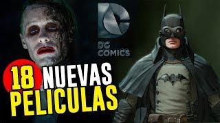 Las 18 Nuevas Películas que DC estrenará 2019 - 2021