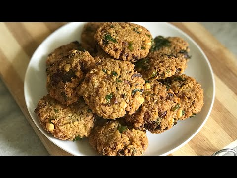 Crispy masala vada recipe/chana dal vada recipe