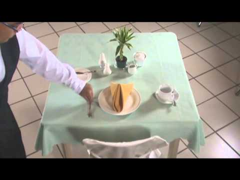 Setting the Table(Breakfast)
