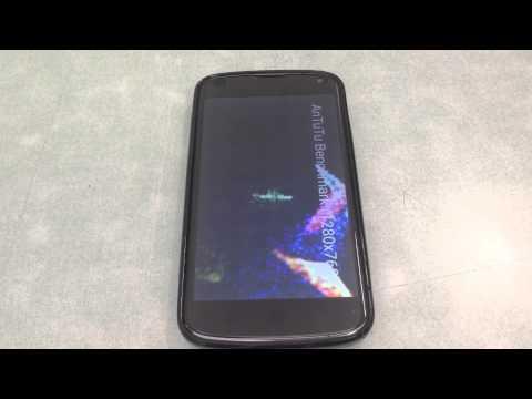Test Antutu Nexus 4 android lollipop 5.1