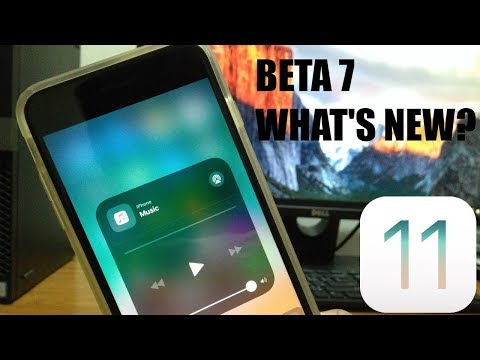 iOS 11 Beta 7 Out! - What's New? Bugs still not fixed?!
