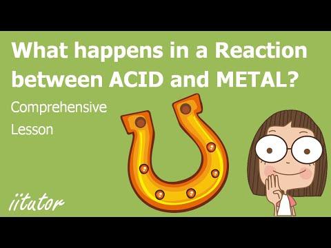 √ Reactions of metals with acids   iitutor