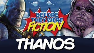 THANOS | Before They Were Fiction | The Avengers Infinity War