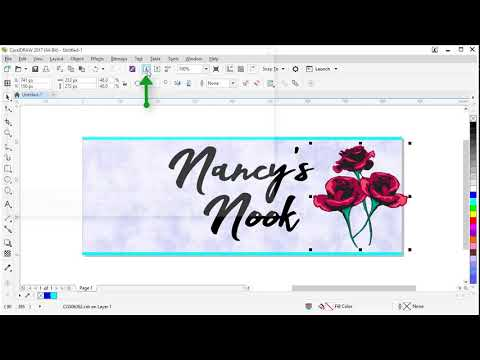 Creating a Facebook Cover Image in CorelDRAW