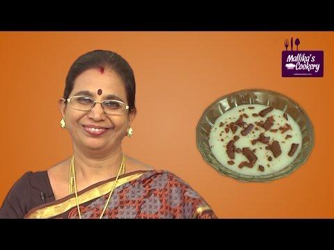 Tender Coconut Pudding Recipe   Mallika Badrinath   Indian Sweet, Dessert