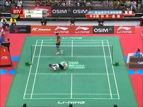 Lin Dan's Trick Move