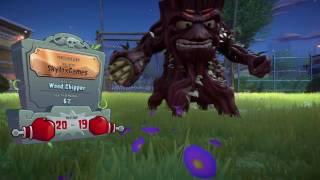 BACKYARD MADNESS!!! Plants Vs Zombies Garden Warfare 2