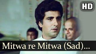 Mitwa Re Mitwa - Sad (HD) | Jawaab Songs | Raj Babbar | Smita Patil | Pankaj Udhas | Filmigaane