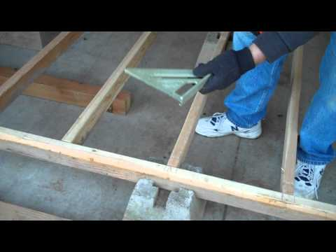 Episode 2 Foundation and Floor Framing