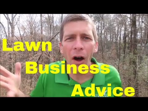 Lawn Care Business Start Up Advice