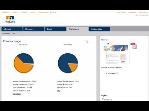 Mailpro™ - Emailing Software V4.0 - L'envoi facile de vos newsletters Mac, PC et Linux