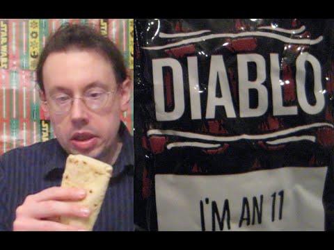 Taco Bell Chicken Flatbread/Diablo Sauce Review