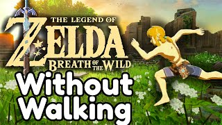 Breath of the Wild but Link can't walk
