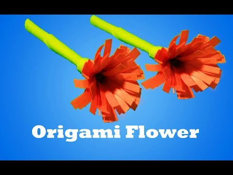 How to make a origami flower - Paper Craft Tutorial