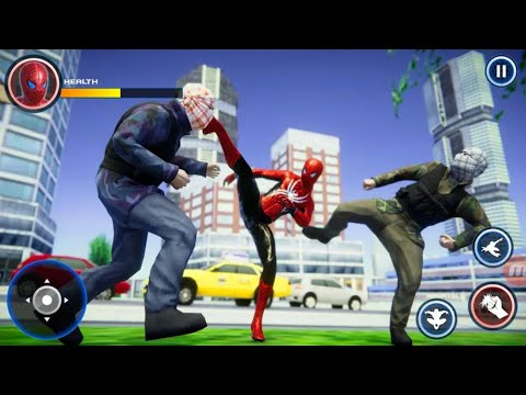 Spider Boy San Andreas Crime City 2 (MobilePlus) Android Gameplay HD
