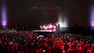 Elon Musk Presents the First Tesla Model 3 Shipments