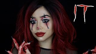 IT Pennywise Girl Tutorial | Daisy Marquez