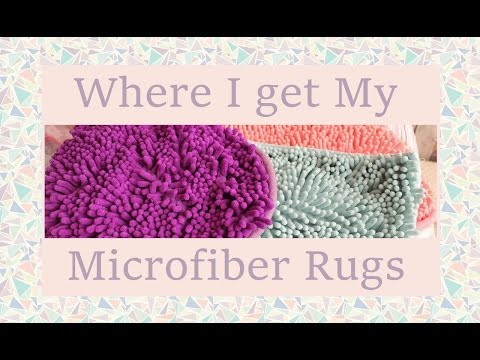 Where I Get My Microfiber Rugs