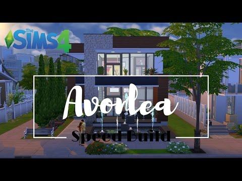 Sims 4 Speed Build - Avonlea Part 2