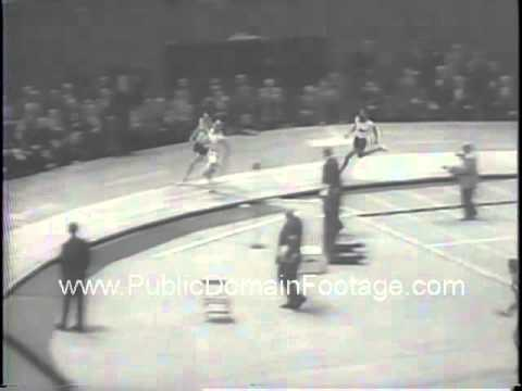 1959 New York Athletic Club Games track meet newsreel archival footage