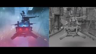 Blade Runner / Dynamic Fog , Volumetric Lighting and Light Rays in Cinema 4D with RedShift engine