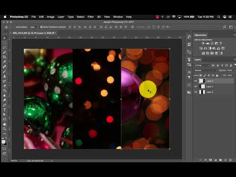 Making a Triptych in Photoshop
