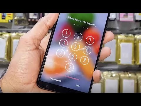 How to unlock pattern lock and password Oppo F5 Youth cph1725,  Oppo CPH1723