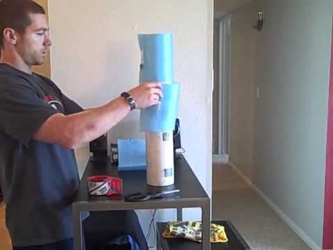 How To Make Your Own Foam Roller