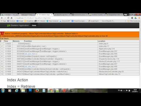 ZF2 Просто, Лесно, Бързо. CRUD с Table Data Gateway - SoftUni част 2/4