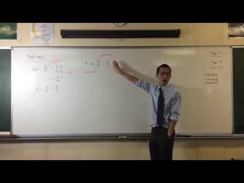 Converting Between Mixed Numerals & Improper Fractions