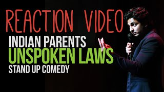 Indian Parents, OCD and Electricity at Home - Stand Up Comedy by Kenny Sebastian Reaction Video