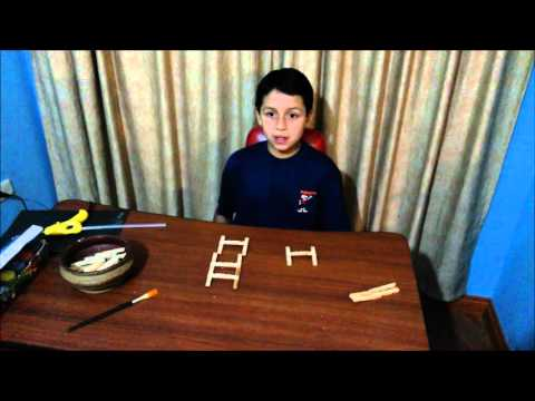 How to make a rocking chair with wooden pegs: Step by Step