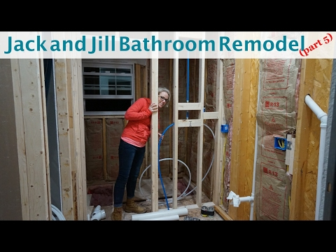 Jack and Jill Bathroom Remodel (part 5)