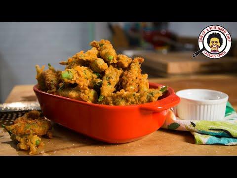Fried Okra   Laz's Comfort Kitchen   Ep. 3