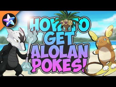 HOW TO GET ALOLAN POKEMON! - Pokemon Brick Bronze