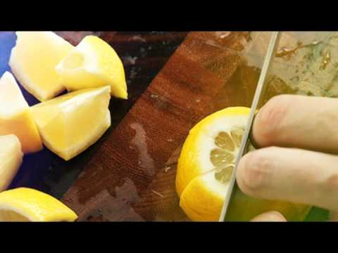 How to cut Citrus Wedges?
