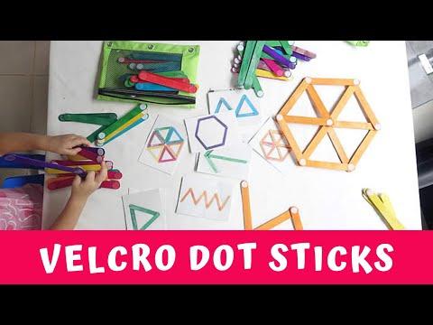 How to Make Velcro Dot Sticks