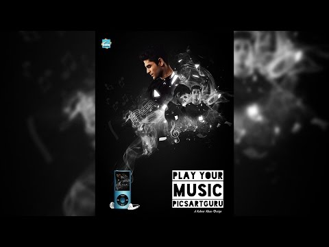 PicsArt Tutorial | Dreamy Photo Manipulation : Music Album Cover Photo Design | PicsArtGuru