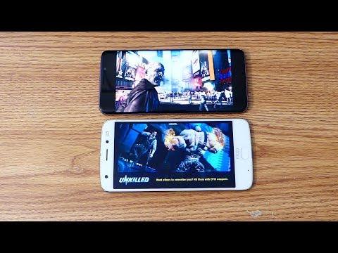 El Moto Z2 force es abofeteado por e S9 Plus en Gaming