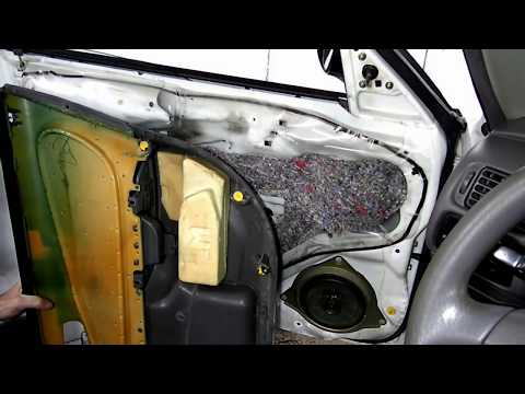 Toyota Corolla Chevrolet Prizm Door Panel Removal